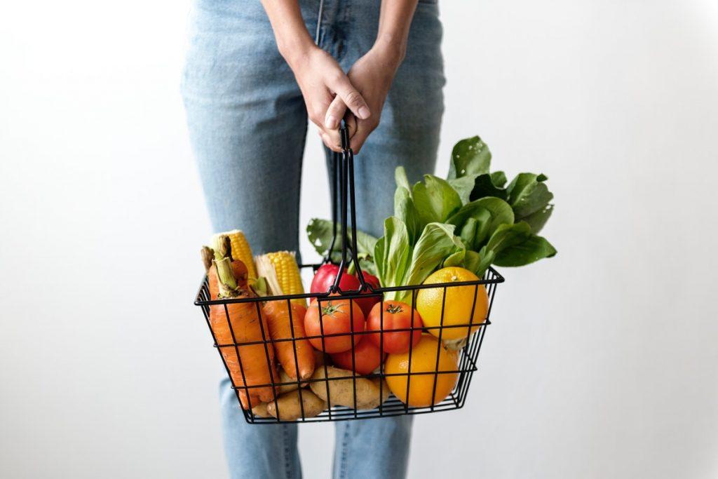 Vegan boodschappen doen