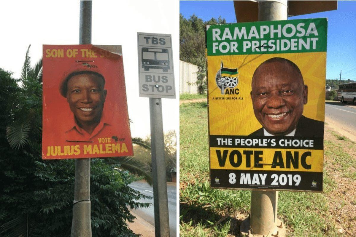 verkiezingen Zuid-Afrika