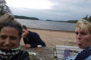familie en vrienden zomer
