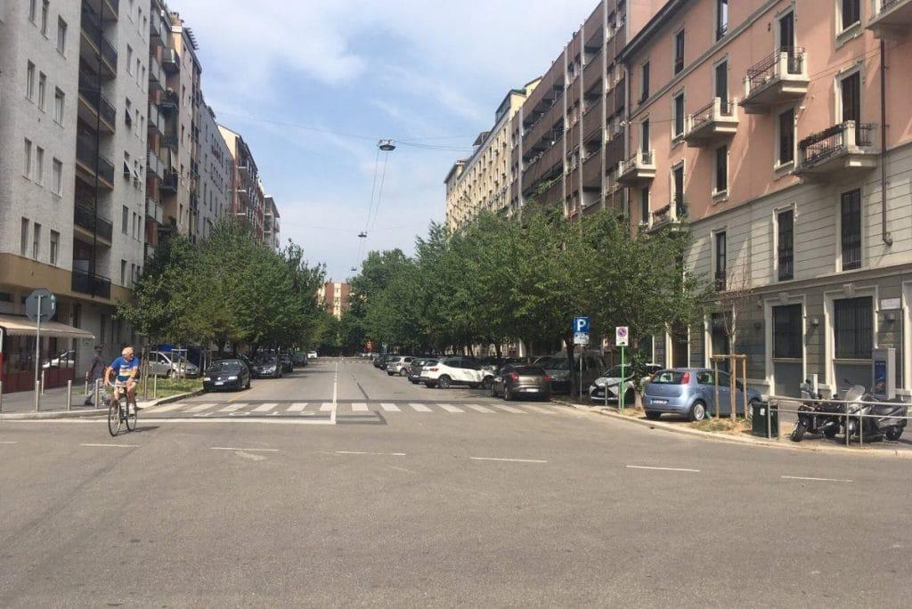 Italie straatbeeld augustus