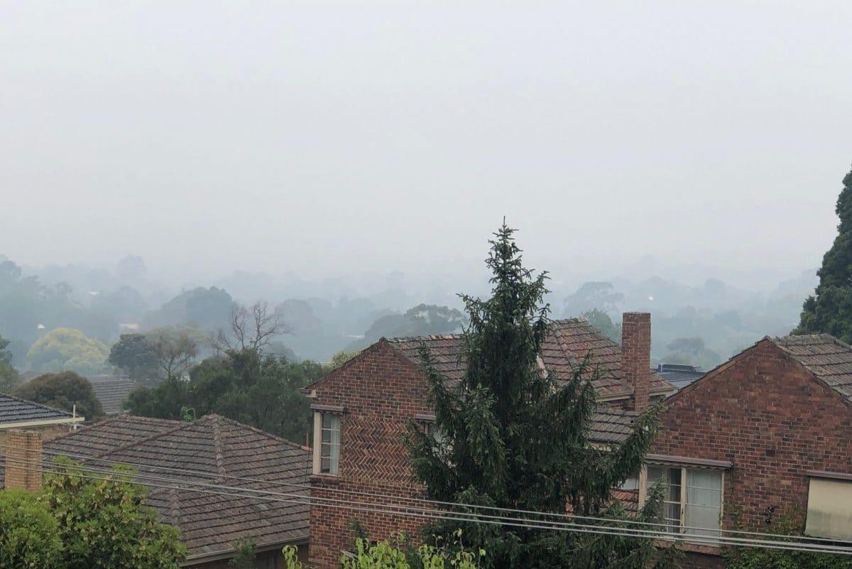 Bosbranden Australië
