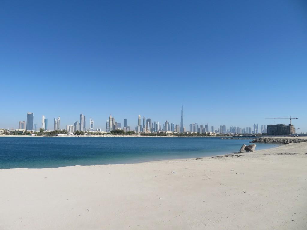 Boodschappen doen in Dubai? Eerst even langs de Securityguard, temperatuurmeting en desinfectietunnel