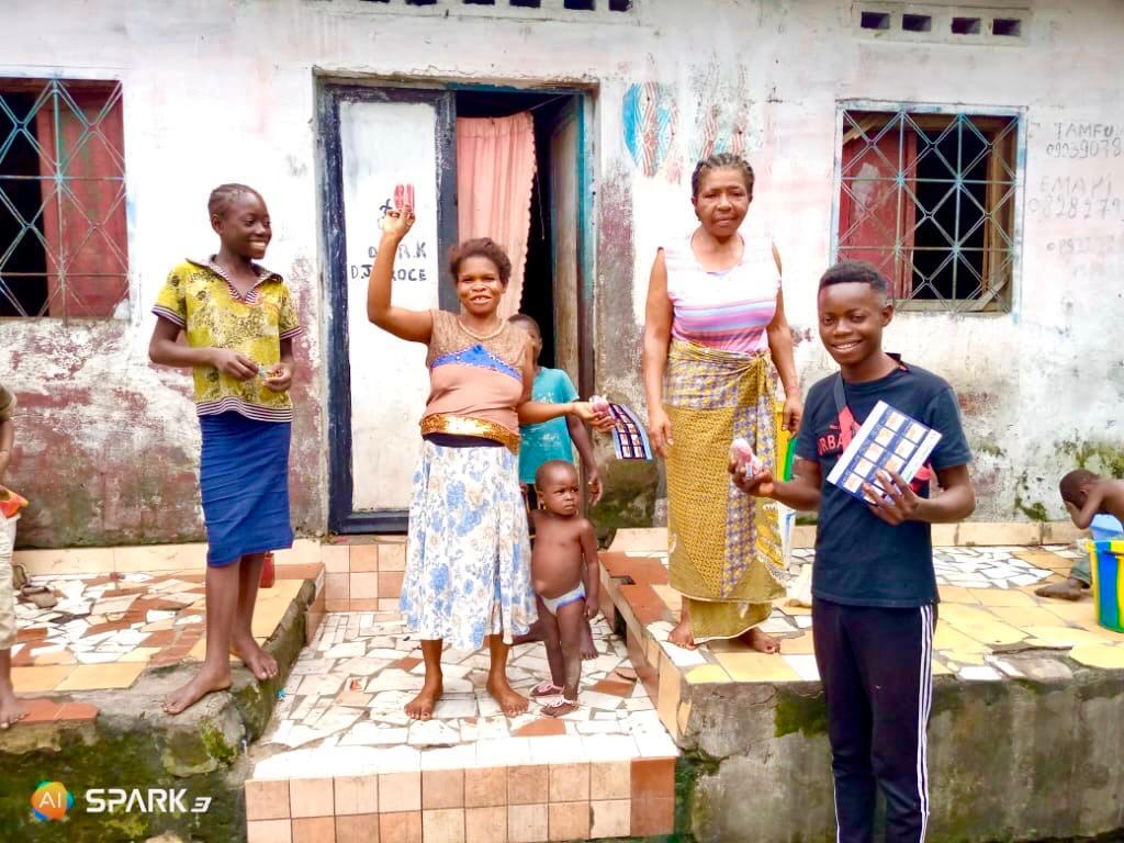 Zeep en muziek tegen corona in de Congo