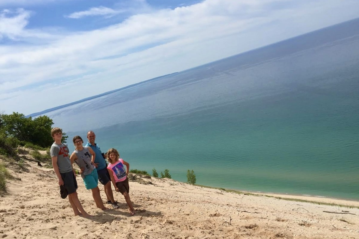 Azuurblauw water en witte stranden: Lake Michigan
