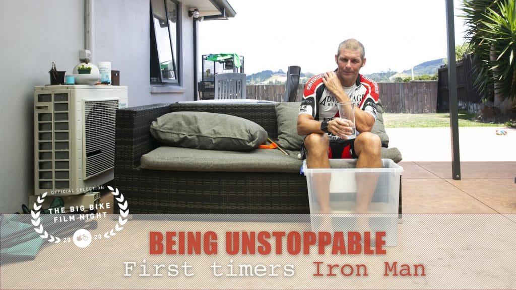 Filmen tijdens Iron Man, een van de zwaarste triatlons ter wereld