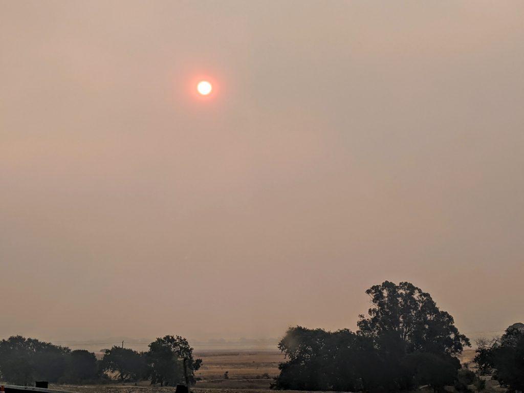 bosbranden Californie