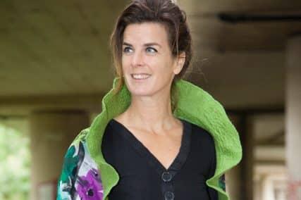 Bedrijf van een Wereldwijf: handgemaakte sjaal Uruguay